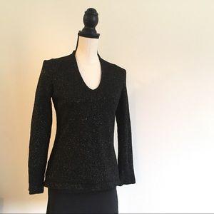 Black Ann Tylor sweater